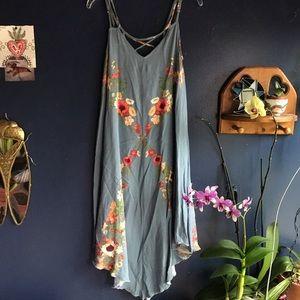 Oniell flowy floral dress